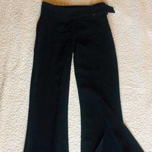 Cute Black bebe Pants, Size 0
